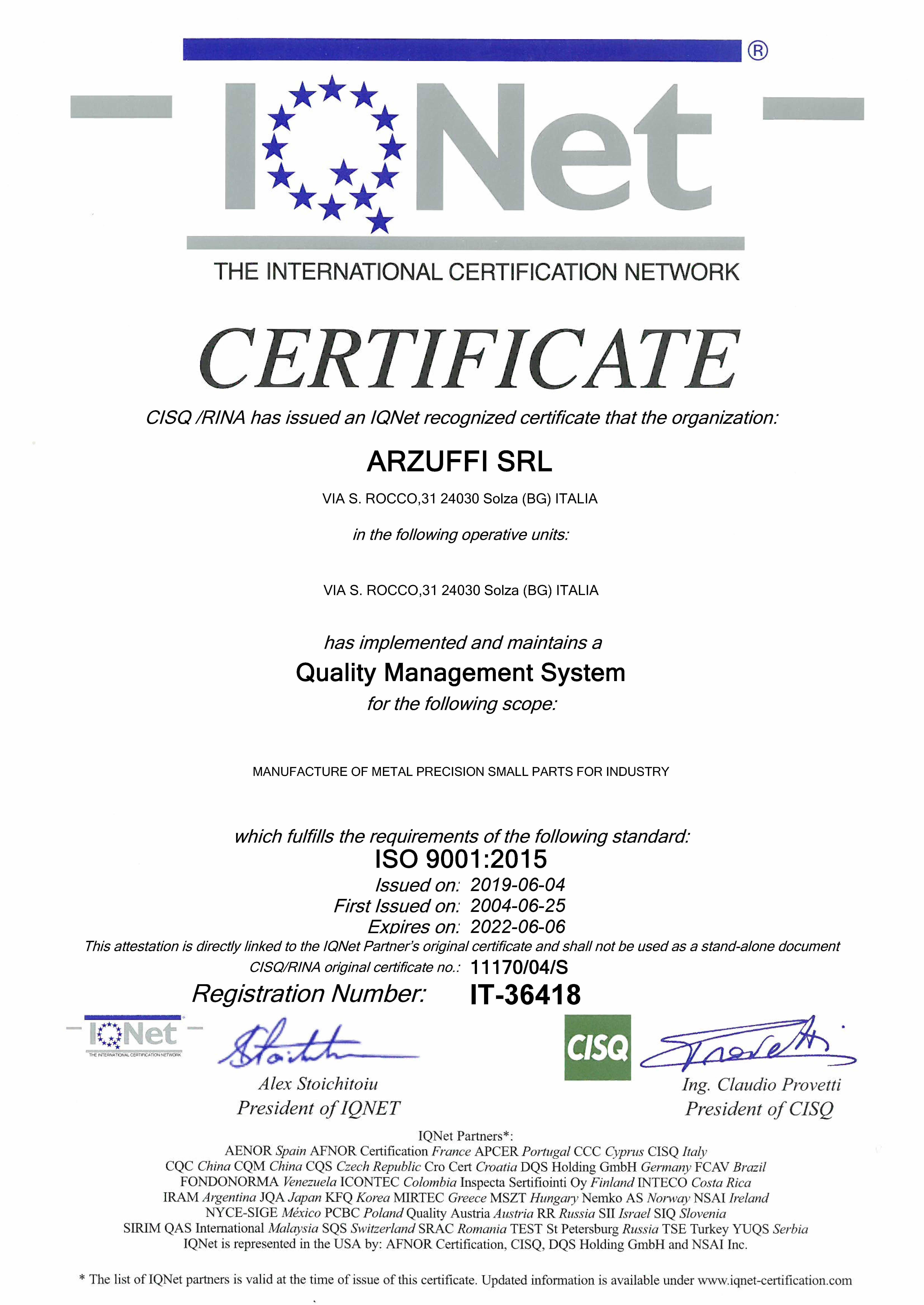 certificato_iqnet